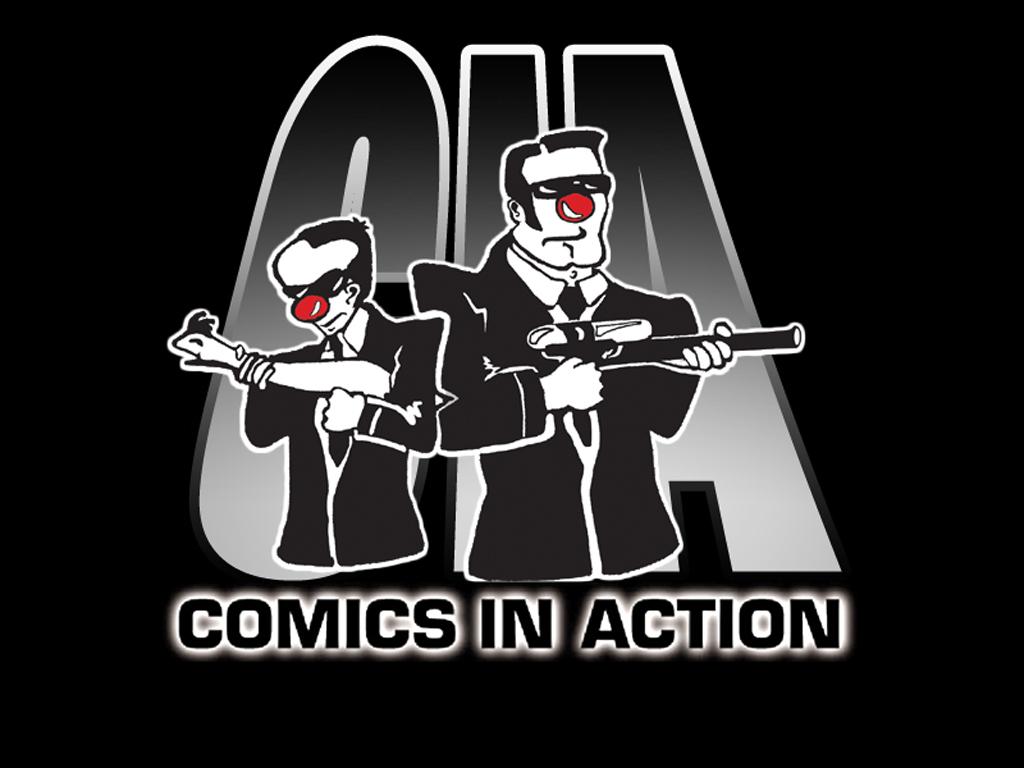 Comics In Action gang do Karaoke