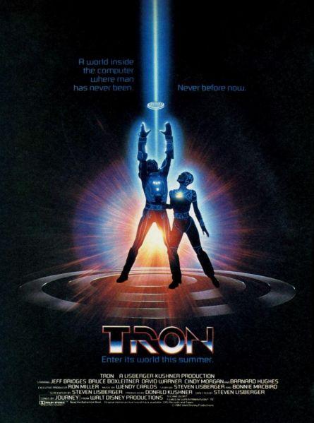 TRON Movie Poster