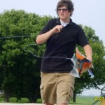 Jared and the Batman Kite