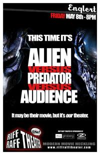 Alien vs. Predator vs. Riff Raff Theater