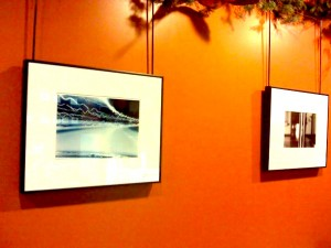 My photography on display at the Coffee Emorium