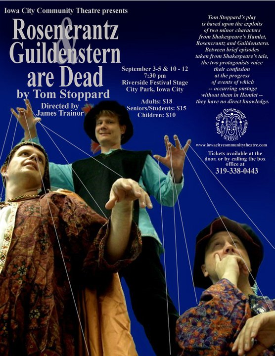 "ICCT Presents ""Rosencrantz and Guildenstern are Dead"""