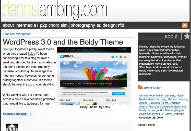 WordPress Zen: Gridlock Theme is Back?